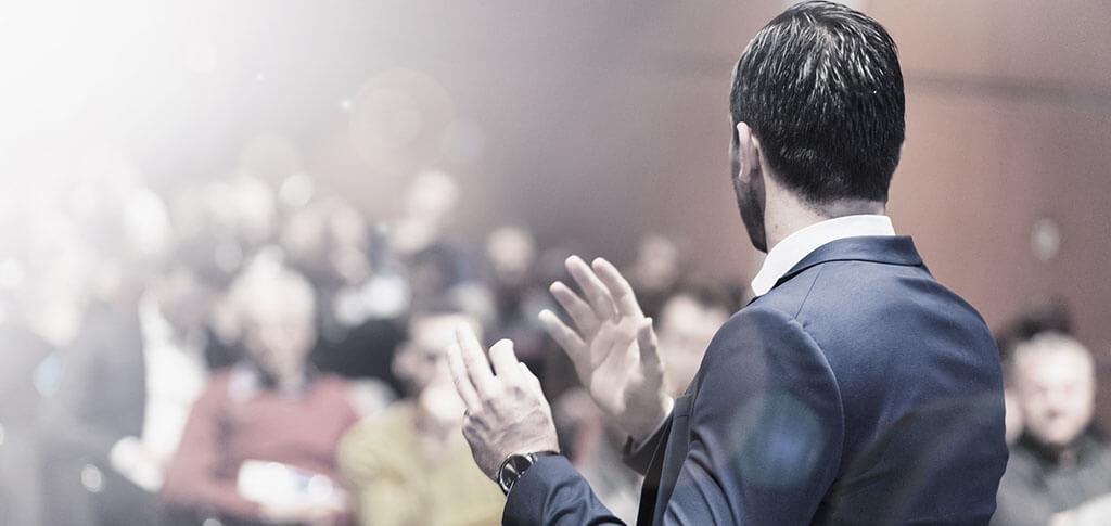 Falar como um lider